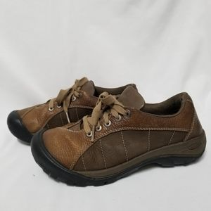 KEEN Presidio Leather Lace-Up Oxford